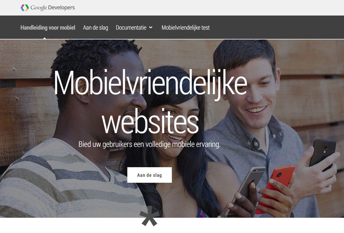 Responsive Webdesign Test Van Google