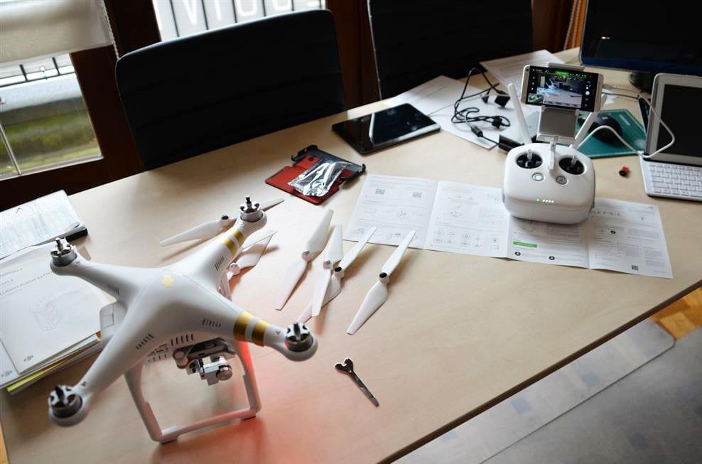 DJI-phantom3-drone-unboxen
